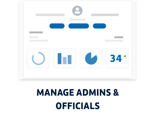 Manage Admins and Officials